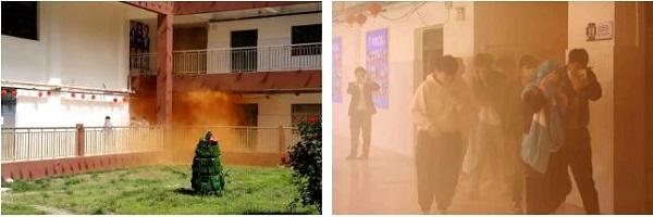 紧急疏散演练和灭火演练